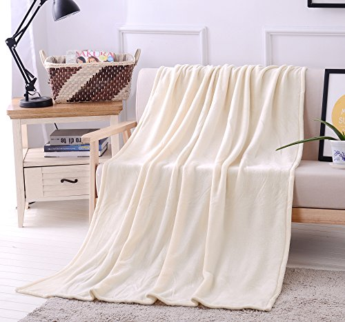 - Exclusivo Mezcla Luxury Flannel Velvet Plush Throw Blanket – 50