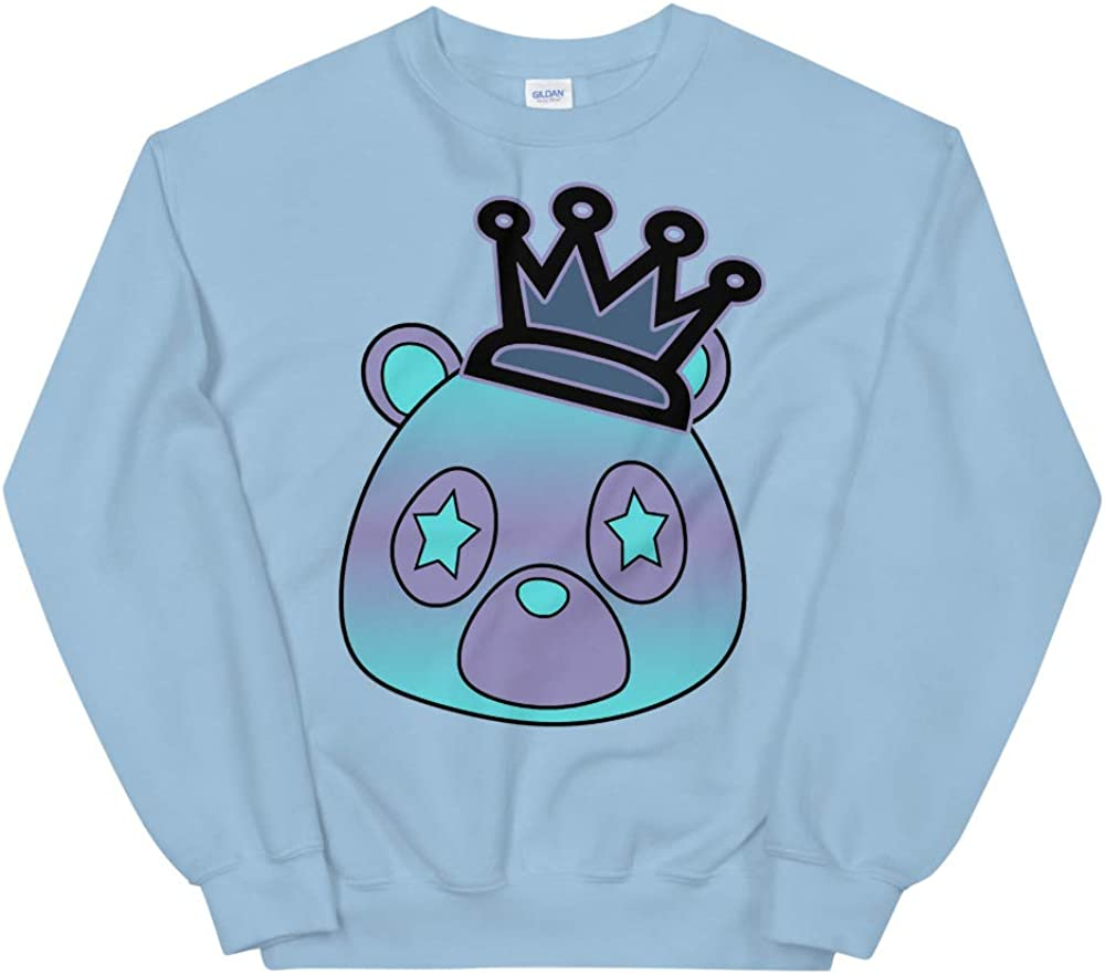 Foam One Abalone Match Unisex Sweatshirt Bear Matching Style of Foamposites