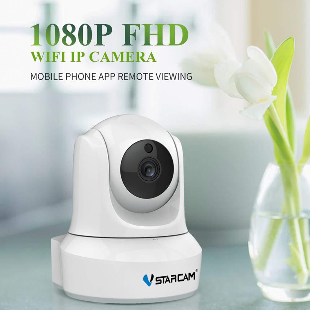 DSstyles VSTARCAM C29S 1080P Full HD Wireless IP Camera CCTV WiFi Home Security Camera White US Plug by DSstyles