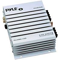 Pyle Hydra PLMRA120 Marine Amplifier - - @ 2 Ohm240 W PMPO - 2 Channel
