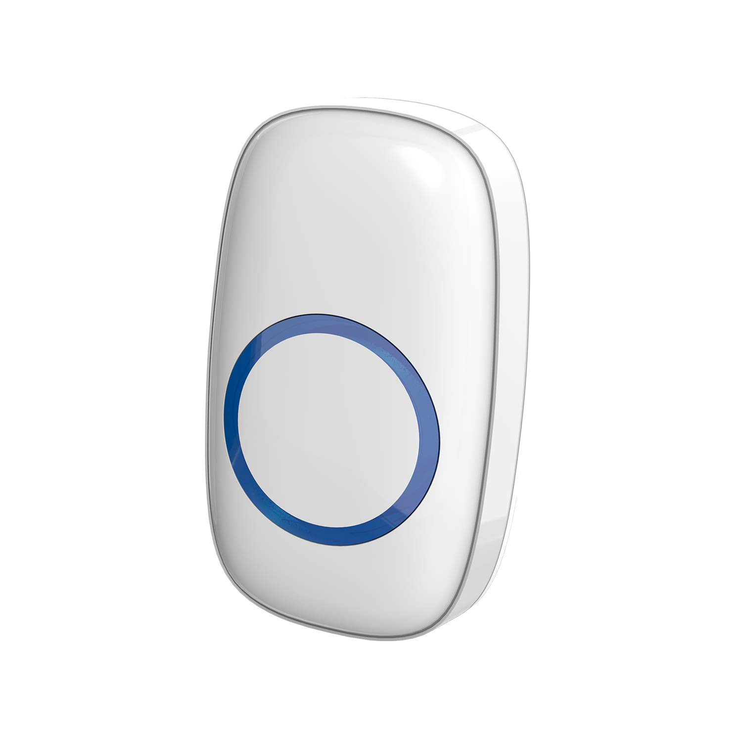 STARPOINT Extra Add-On Remote Transmitter Button for STARPOINT Expandable Wireless Multi-Unit Long Range Doorbell Chime Alert System, Model LT, White