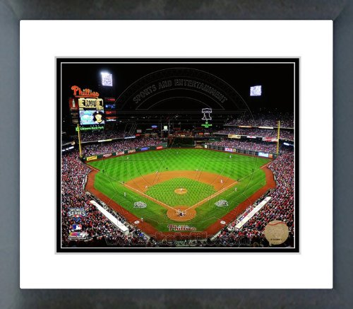 (Citizens Bank Park 2009 World Series Game 4 Framed Picture)