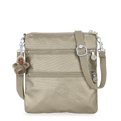 Kipling Women's Rizzi Metallic Convertible Mini Bag One Size Metallic Pewter