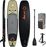 Z-Ray 11' Fishing SUP Stand Up Paddle Board Package w/ Pump, Paddle and Travel Backpack, 6'' Thick