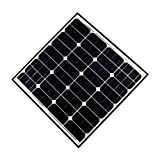 Aleko Products Solar Panel 60 Watt 24 Volt Monocrystalline
