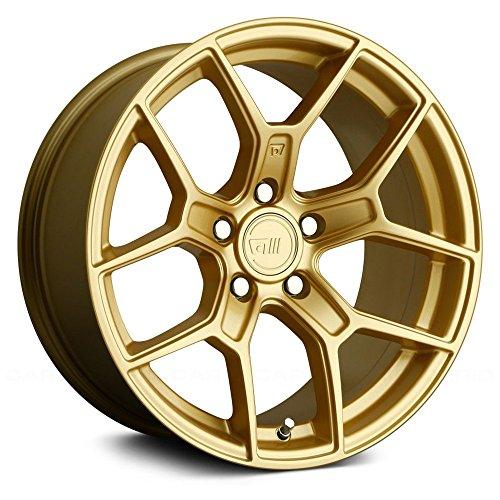 Motegi MR133 18x8.5 Gold Wheel / Rim 5x112 with a 35mm Offse