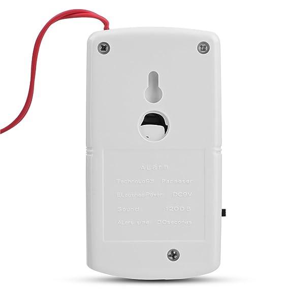 Zerone Mando a Distancia Inalámbrico vibración Home Security Alarma Automático antirrobo Puerta & Ventana Sensor Detector de Seguridad - Blanco: Amazon.es: ...