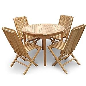 51Y6odnzuFL._SS300_ Teak Dining Tables & Teak Dining Sets