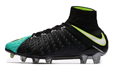 b6dd1870a7afa Image Unavailable. Image not available for. Color: Nike Hypervenom Phantom III  DF FG Light Aqua/White/Black/Volt Women's Soccer