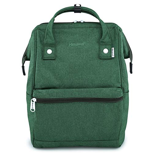 Loading Case Soft Top - Himawari Travel Backpack Large Diaper Bag Doctor Bag Backpack School Backpack for Women&Men (H2261 Green)