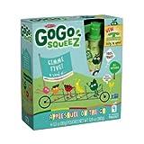 GoGo SqueeZ Mixed Fruit Apple Sauce, 3.2 Ounce - 48 per case.