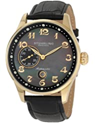 Stuhrling Original Men's Classic Collection Heritage Grand Automatic Date Watch Black 148A.33351