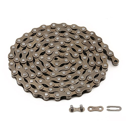 zonkie Bike Chain Single-Speed 116 Links