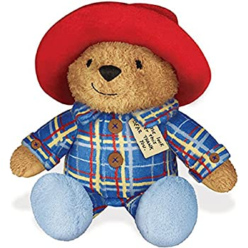 Sleepy Time Paddington with Snore in Plaid Pajamas