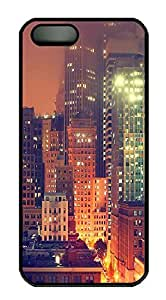 iPhone 5 5S Case Landscapes thecity PC Custom iPhone 5 5S Case Cover Black