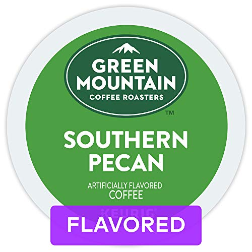 Green Mountain Coffee, Southern Pecan, Single-Serve Keurig K-Cup Pods, Light Roast Coffee, 72 Count (3 Boxes of 24 Pods)