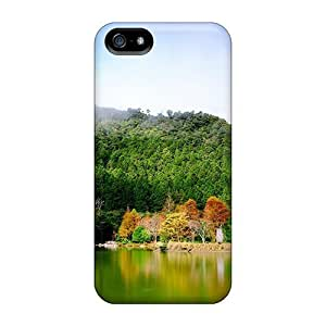 New Diy Design Evergreen Nature For Iphone 5/5s Cases Comfortable For Lovers And Friends For Christmas Gifts