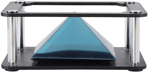 3D Hologram Proyector Pirámide 3.5-6 Pulgadas Móvil Smartphone ...