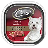 Cesar Entrées Food Trays for Dogs - Beef - 100g (24 Pack)