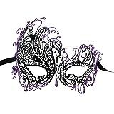Coxeer Womens Metal Masquerade Mask Halloween Mardi Gras - Best Reviews Guide