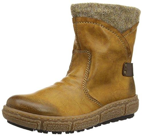 RiekerZ7980 - botas de caño bajo Mujer Marrón - Braun (cayenne/kastanie/wood / 24)