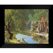 """Paul Detlefsen FRAMED Art Print 20x24 """"Good Old Days"""""""