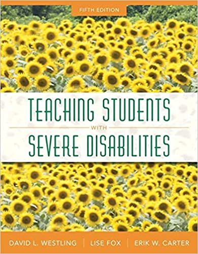 Teaching Students with Severe Disabilities, 5th Edition