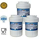 Icepure RFC0600A-3PACK Fridge Replacement Water Filter For GE HMWF,MWF