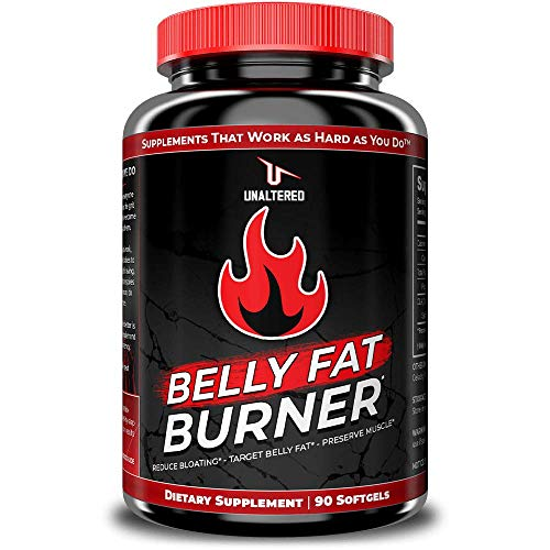 CLA Belly Fat Burner Weight Loss Pills to Lose Stomach Fat & Eliminate Bloating – for Women & Men – 3,000mg Conjugated…