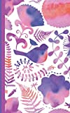 Journal and Organizer: Password manager book with alphabet tabs and discreet romantic watercolor design (5'x8') - a great gift for for teenage girls, best friends, mothers or grandmothers