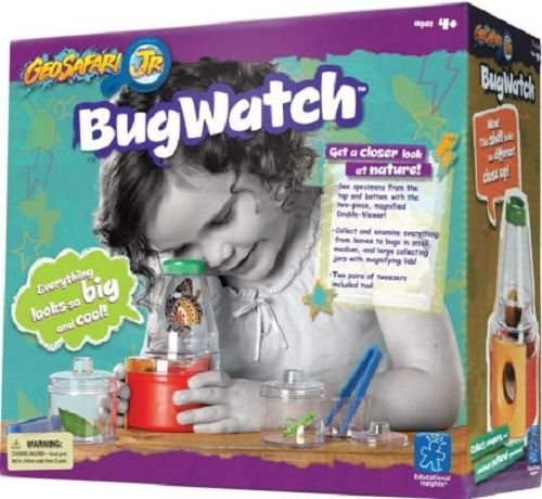 Kids Bug Collecting Science Kit Educational Insights GeoSafari Bugwatch Age 5 Up