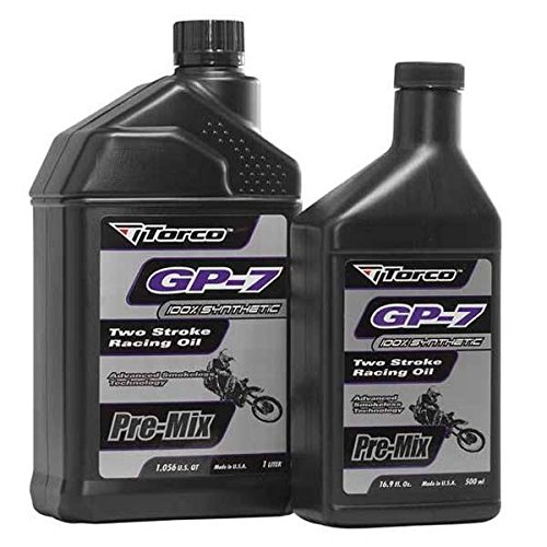 Torco International Corp GP-7 Racing 2T Oil - 1 Gallon T930077SE (Racing Torco)