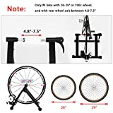 Puluomis Bike Trainer Stand, Foldable Steel