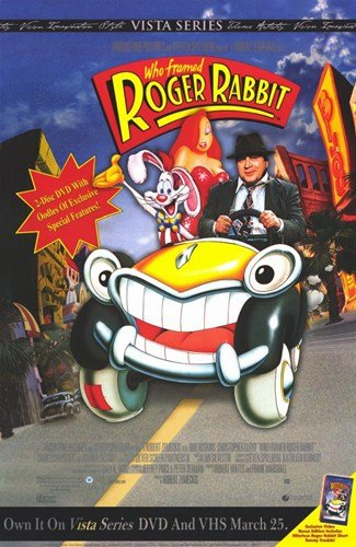 Who Framed Roger Rabbit - Movie Poster - 11 x 17