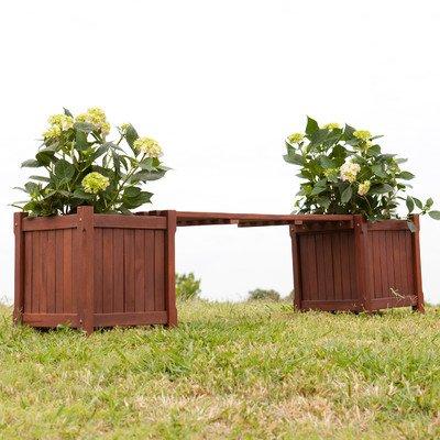 Griffin Planter Holder Bench