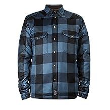John Doe Lumber Jack Motorcycle Kevlar Vest Mens-Blue 2XL