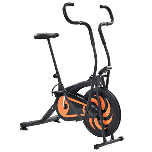 FESTNIGHT Bicicleta Estática de Ejercicio de Aire 46 cm (Funciones ...