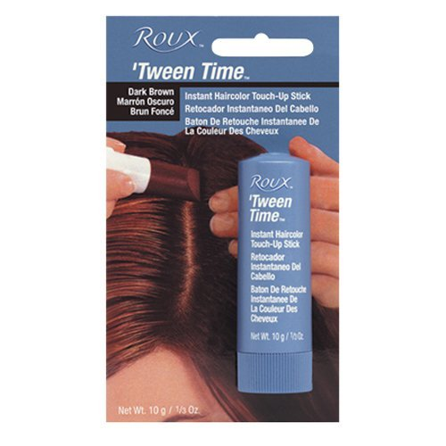 Roux 'Tween Time Instant Root Concealer, Black 1 ea (Pack of 6)