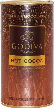 Godiva Dark Chocolate Hot Cocoa 14.5oz (6-pack) by GODIVA Chocolatier by GODIVA Chocolatier