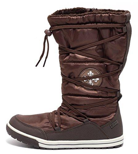 Damen Winter Thermostiefel braun Gr 36-39 Winterstiefel Stiefel Schnee Schuhe