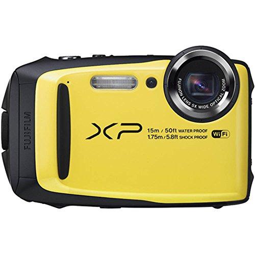 Fujifilm FinePix XP90 Yellow Waterproof digital camera (Yellow) (Finepix Digital Camera compare prices)