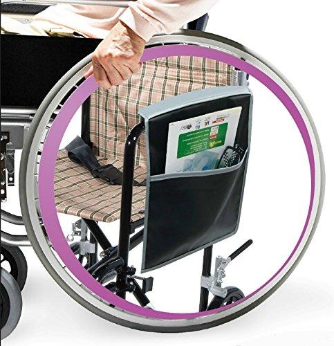 Wheelchair/Walker Armrest Side Pouch Organizer
