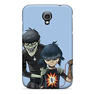 Hot Tpu Cover Case For Galaxy/ S4 Case Cover Skin - Gorillaz Noodle And Murdoc