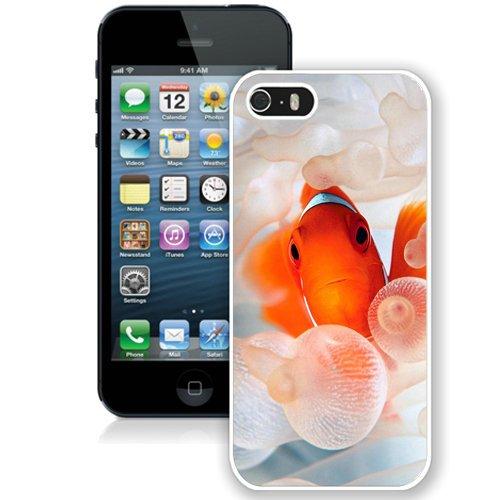 Coque,Fashion Coque iphone 5S Gold Fish Nemo Orange Sea blanc Screen Cover Case Cover Fashion and Hot Sale Design