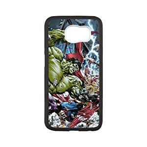 Avengers Samsung Galaxy S6 Cell Phone Case White SP1290639