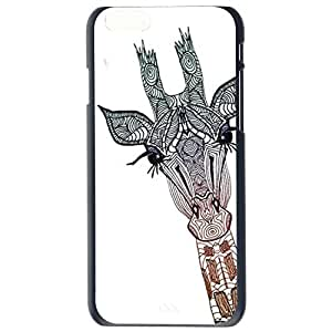 Fashion Cartoon Giraffe , Cat Design Giraffe ,Cats Plastic Hard Case Cover Back Skin Protector For Apple iPhone 6G Plus 5.5 by Alexism Size86