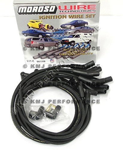 Moroso 9872M Mag-Tune Spark Plug Wires Ford 351W Windsor HEI 135 Deg 351W 351C 351M