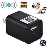 Tonut 1080P HD Charger Hidden Surveillance Spy Cameras USB Wall AC Plug Adapter Wireless Wifi Nanny Cam Video Recorder
