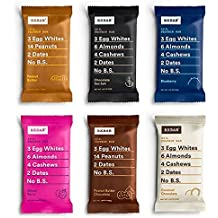 RXBAR Whole Food Protein Bar, Variety Pack, All Flavors (12 Bars)