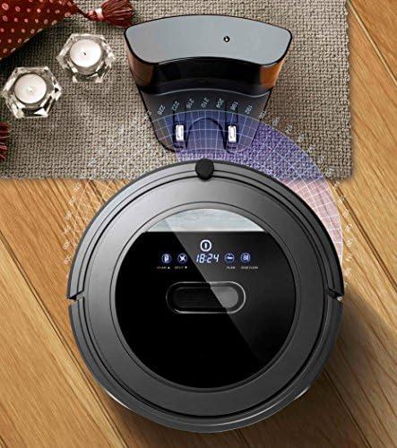 Deluxe Robot Aspirador Programable 4 En 1 Barre Friega Aspira ...